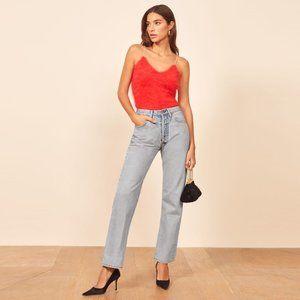 reformation ∙ slim levi's redline jeans